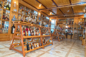 Bottle-Museum of alcoholic beverages