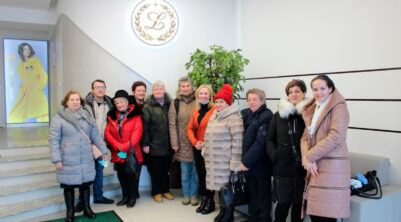 """Industrial tourism: first excursion to """"Intercenter Lux"""" sewing factory"""